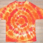 can you wash more than one tie dye shirt together