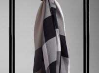 Burberry Scarf with Wool Silk