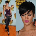 New Short hairstyle Rihanna
