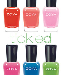 Zoya Nail Polish Swatches 2021 Tickled Summer Collection
