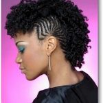 Short braided mohawk hairstyles