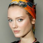 Headscarf Wear with Short Hair