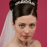 African American wedding hairstyles with veil