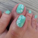 toenail designs step by step