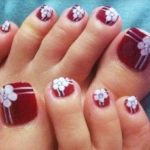 Cute Easy Toenail Designs for Summer 2018 Pictures