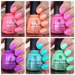 china glaze collection list