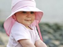 kids beach hats