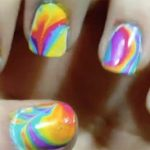 how do you tie-dye your fingernails