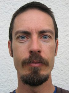 long goatee with wide mustache