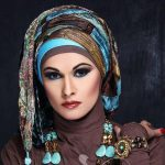 Modern fashion hijab