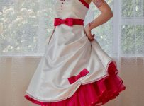 50s rockabilly wedding dress