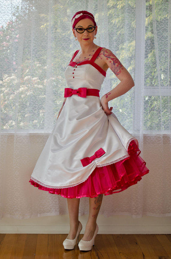 Plus Size Rockabilly Wedding Dresses