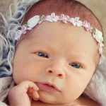 infant flower headbands