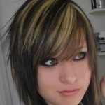 short emo hairstyles with bangs