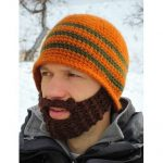 visor beanie knitting pattern