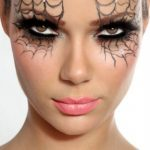 dramatic halloween eye makeup