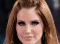 lana del rey fake eyelashes