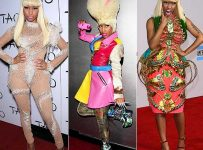 nicki minaj idol outfit