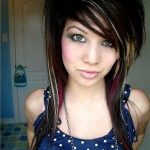 emo curly hairstyles for girls