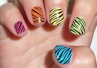 How to Do Leopard Print Nails with Toothpick Dotting Tool Pencil Eraser