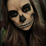 easy scary halloween makeup