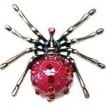 Halloween spider ideas for necklaces
