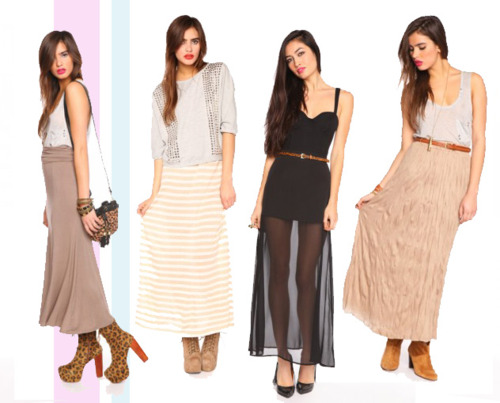 chunky heels to wear with maxi dress styloss
