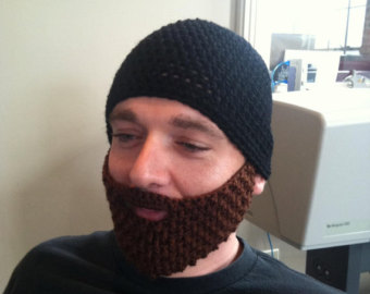 Beanie Hat With Beard Crochet Pattern Free : Old Man Hairy Ears Search Results Hairstyle Galleries