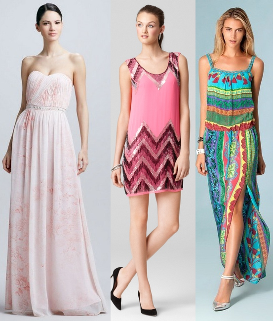 Chunky Heels To Wear With Maxi Dress