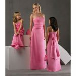 pink bridesmaid dresses under 100