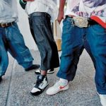 thug sagging pants
