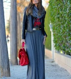 How to Wear a Summer Maxi Dress in Winter