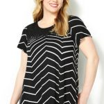 chevron tops and dresses