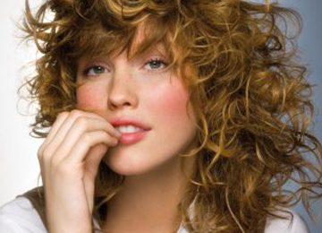 School Hairstyles for Frizzy Curly Hair