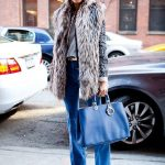 winter street chic look