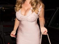 kelly brook bum dress