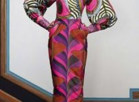 urban renewal african print dress