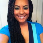 senegalese twists with weave