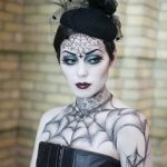 gothic makeup for halloween