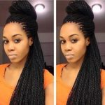 updos for senegalese twists