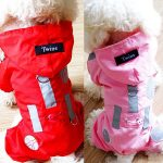 dog raincoats with hoods