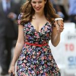 kelly brook casual street style