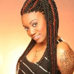 senegalese twists with human hair