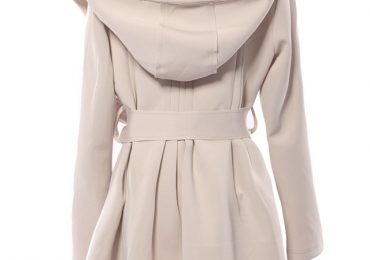 Womens Winter Trench Coat with Hood