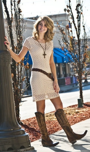 Dresses That Look Good With Cowboy Boots Stylosscom
