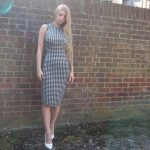 what to wear under bodycon dress