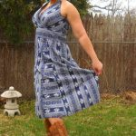 dress with cowboy boots outfits