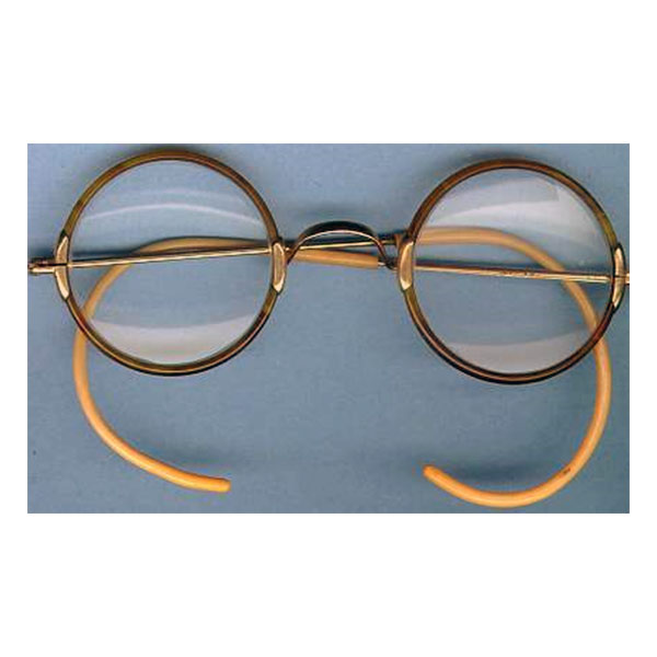 Round Eyeglass Frames With Cable Temples images