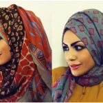 how to wear hijab arab style