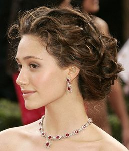 Hairstyle Updos with Cocktail Dress